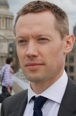 Christopher Gregory, co-founder and chief executive, Squawker
