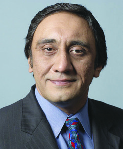 Phupinder Gill, chief executive of CME Group
