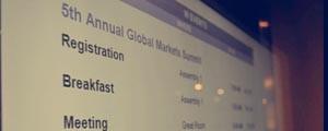 Markets Media: Global Markets Summit 2012