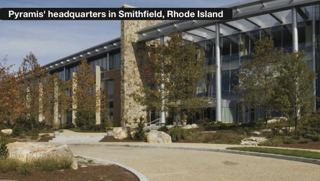 Pyramis' headquarters in Smithfield, Rhode Island