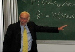 Jim Simons, founder of hedge fund Renaissance technologies AnD co- inventor of a brilliant piece of mathematics called the Chern-Simons 3-form, one of the most important parts of string theory