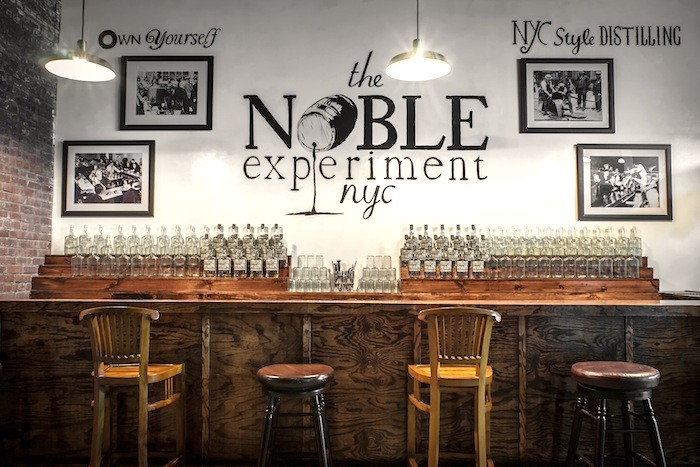 The Noble Experiment Tasting Room