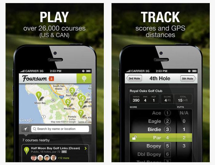 Foursum Golf App