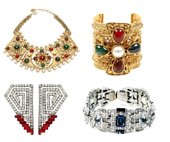 Ben-Amun art deco jewelry