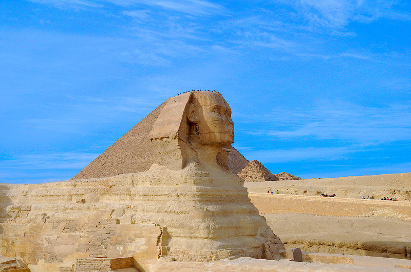 The Great Sphinx- Egypt by Harv Greenberg