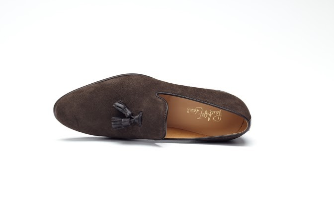 suede tassle loafer 5