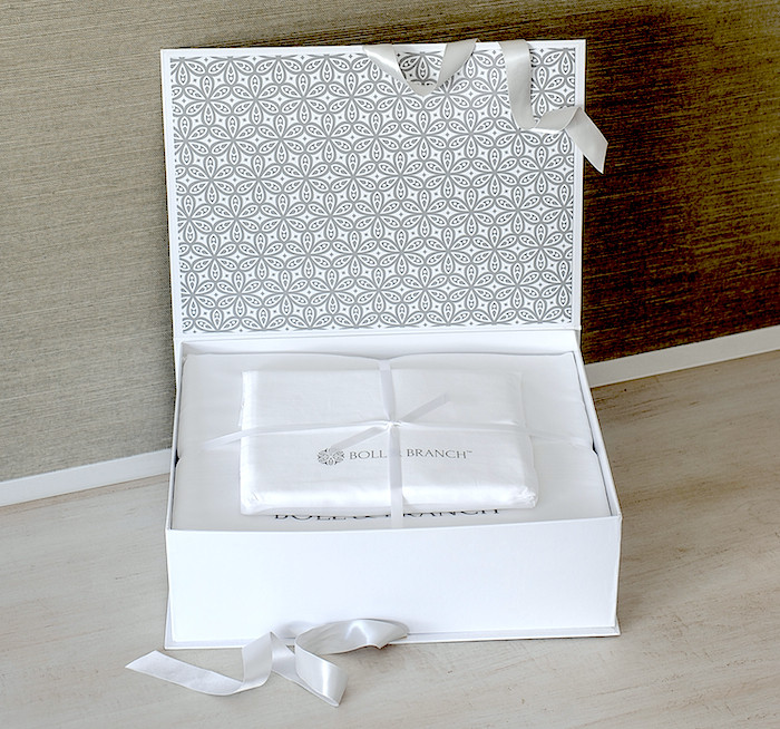 White Sheet Set Boxed