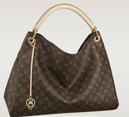 Louis Vuitton handbag real leather