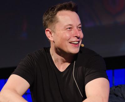 Elon Musk  [Image via Wikipedia  -  CC