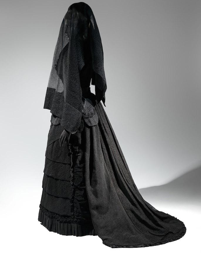Mourning Ensemble,1870-1872