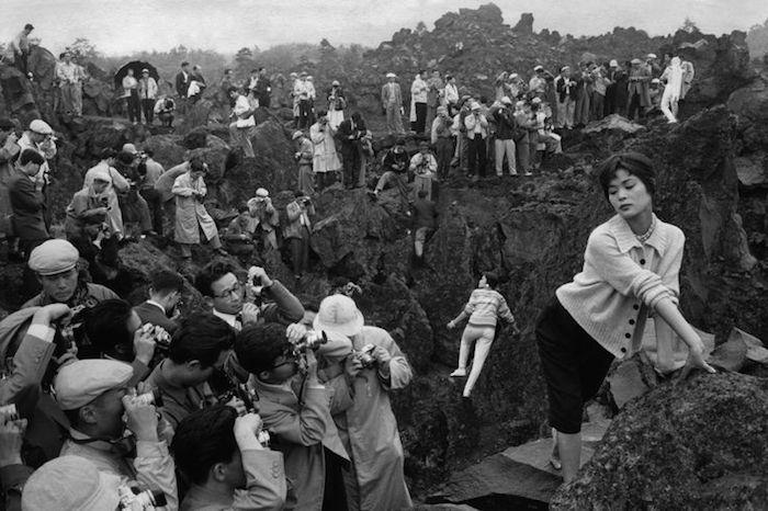 Marc Riboud, Photography Fair 150 Kilometers from Tokyo, Japan, 1958 Photograph
