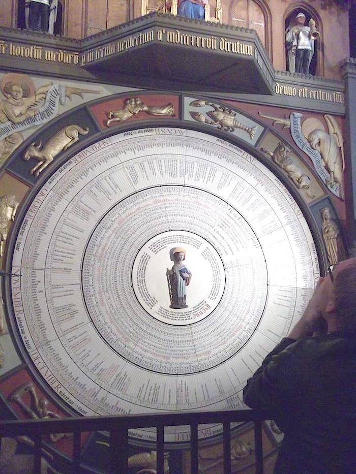 Astronomical clock at Lund Cathedral