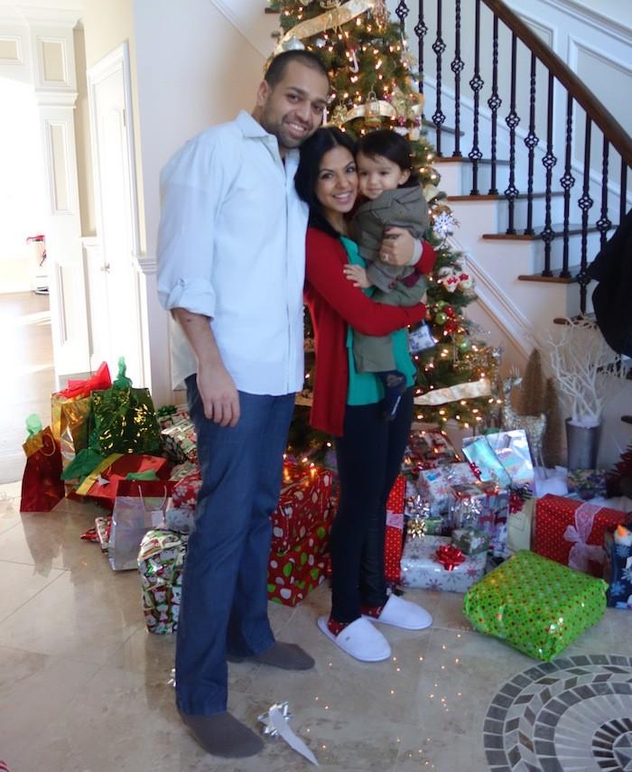 Ishviene Arora family