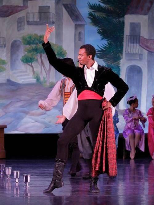 Louis Roccato. Photo via New Mexico Ballet Company