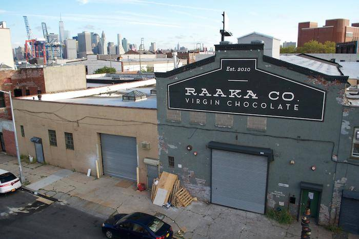The new Raaka Chocolate Factory