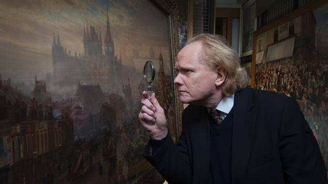 Victorian expert Alex Turner is the curator of the Sherlock Holmes exhibit. Image via visitlondon.com
