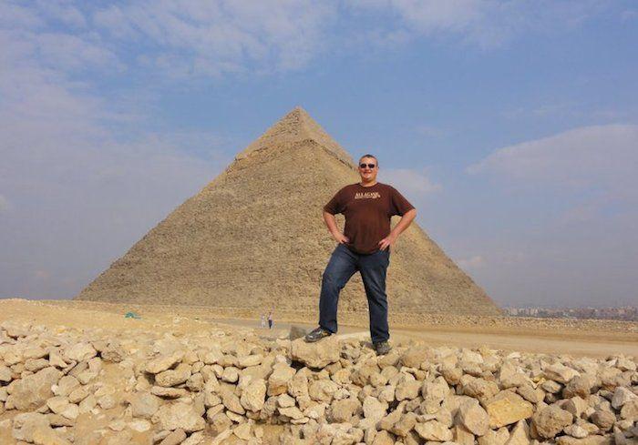 Egypt. Photo via Mike Borovsky