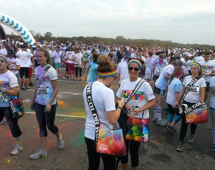 The Color Run finish