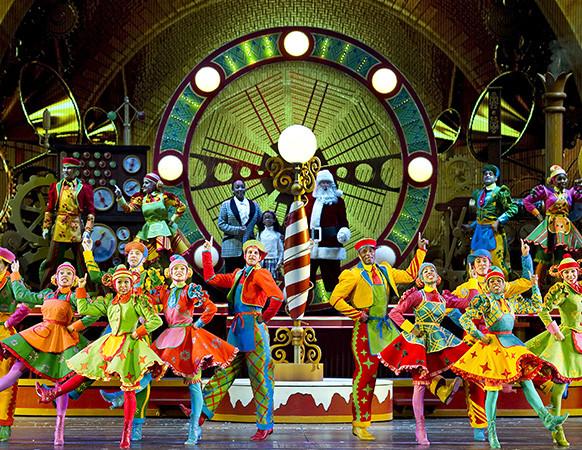 Santa's Workshop in the Radio City Christmas Spectacular