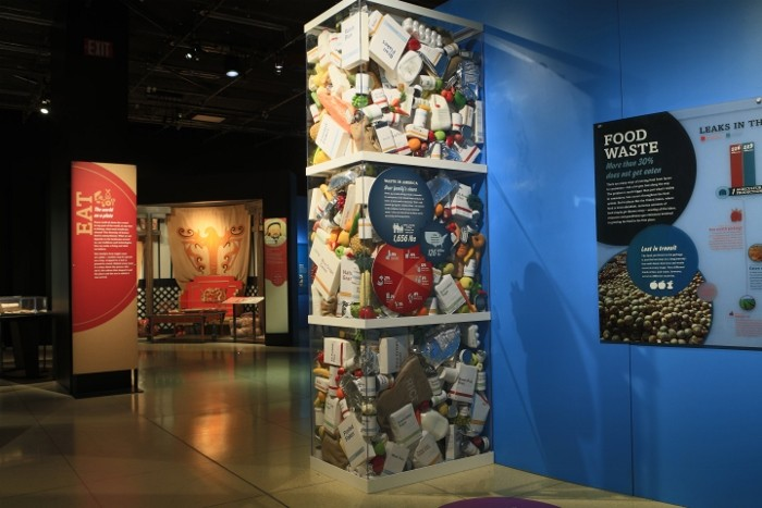 """""""Food: Our Global Kitchen"""" exhibition at the National Geographic Museum in Washington, D.C. October 16, 2014 - February 22, 2015 © Rebecca Hale/National Geographic"""