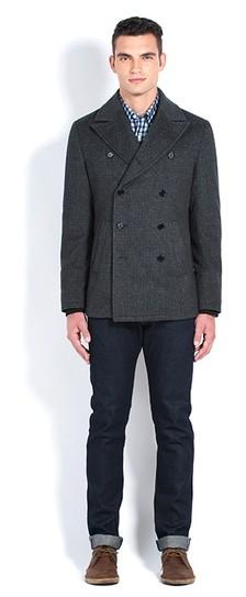 Italian Wool Peacoat $100