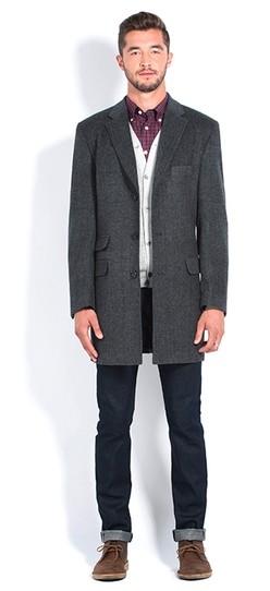 Italian Wool Overcoat $120