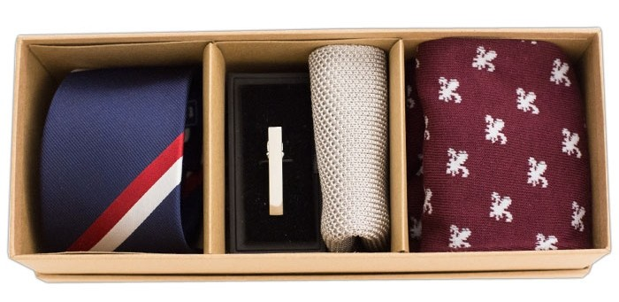 The Pink and Navy Style Box, $89