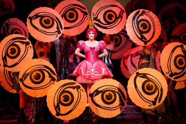 """Erin Morley as Olympia in the Met's opening performances of """"Les Contes d'Hoffmann."""" Photo: Marty Sohl/Metropolitan Opera"""