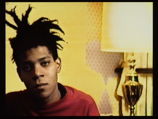 Tamra Davis (American, b. 1962). Still from A Conversation with Basquiat, 2006. 23 min., 22 sec. ©Tamra Davis. Courtesy of the artist. By permission of the Estate of Jean-Michel Basquiat, all rights reserved. Photo: Jonathan Dorado, Brooklyn Museum