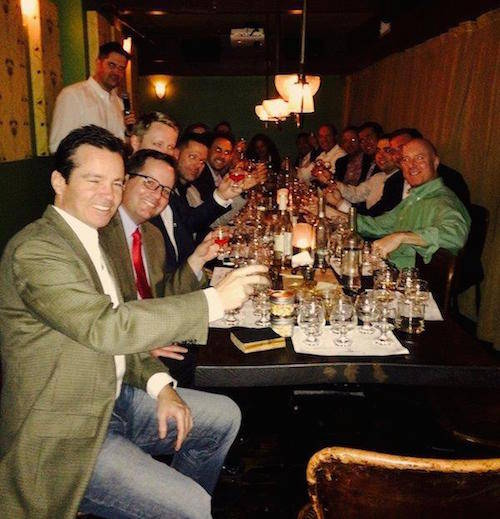 Markets Media member event -- whisky tasting at the The Flatiron Room