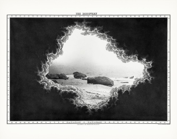Elena Damiani, The Discovery, from Geologic Lights, 2015. Series of 6 gicleé prints on Hahnemühle Museum etching paper. Edition of 3. Courtesy of the artist and Revolver Galeria, Lima, Peru
