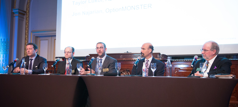 NYSE/OIC Thought Leadership Forum. Photo by Alyssa Ringler