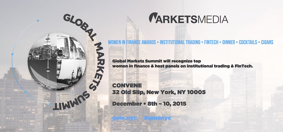 The Global Markets Summit 2015