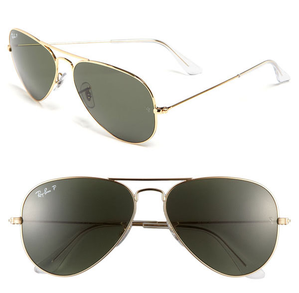 'Original Aviator' 58mm Polarized Sunglasses