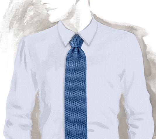 Hermes Unie 2.0 plain silk knit tie