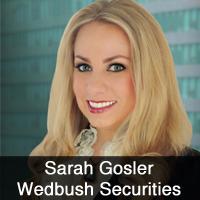 Sarah Gosler, Wedbush Securities