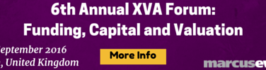 6th Annual XVA Forum: Funding, Capital and Valuation