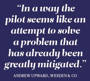 Andrew Upward, Weeden & Co